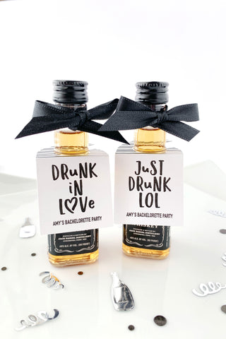 Drunk In Love Bachelorette Party Favors - Invited Too