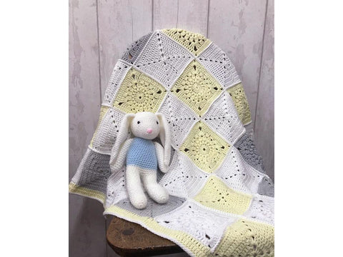 Sunshine Baby Blanket in Cygnet Yarns Pure Baby (CY1134)