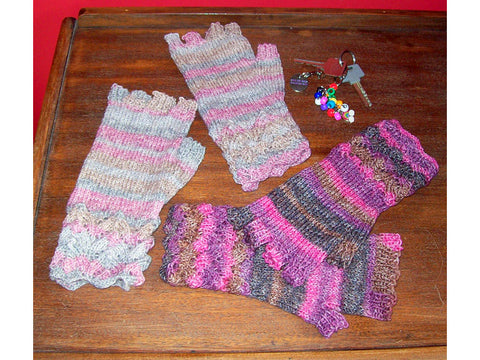 Fingerless Gloves by Anne Donovan in Stylecraft Head Over Heels Allstars