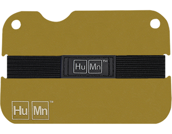 Gold - HuMn Mini RFID Blocking