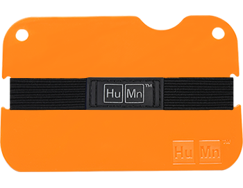 Fluorescent Orange - Polycarbonate HuMn Mini