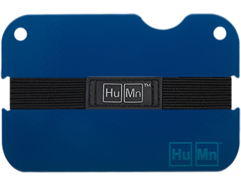 Royal Blue - HuMn Mini RFID Blocking