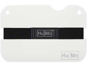 Sky White - HuMn Mini RFID Blocking