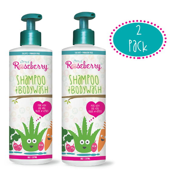 Two Pack Baby Shampoo + Body Wash