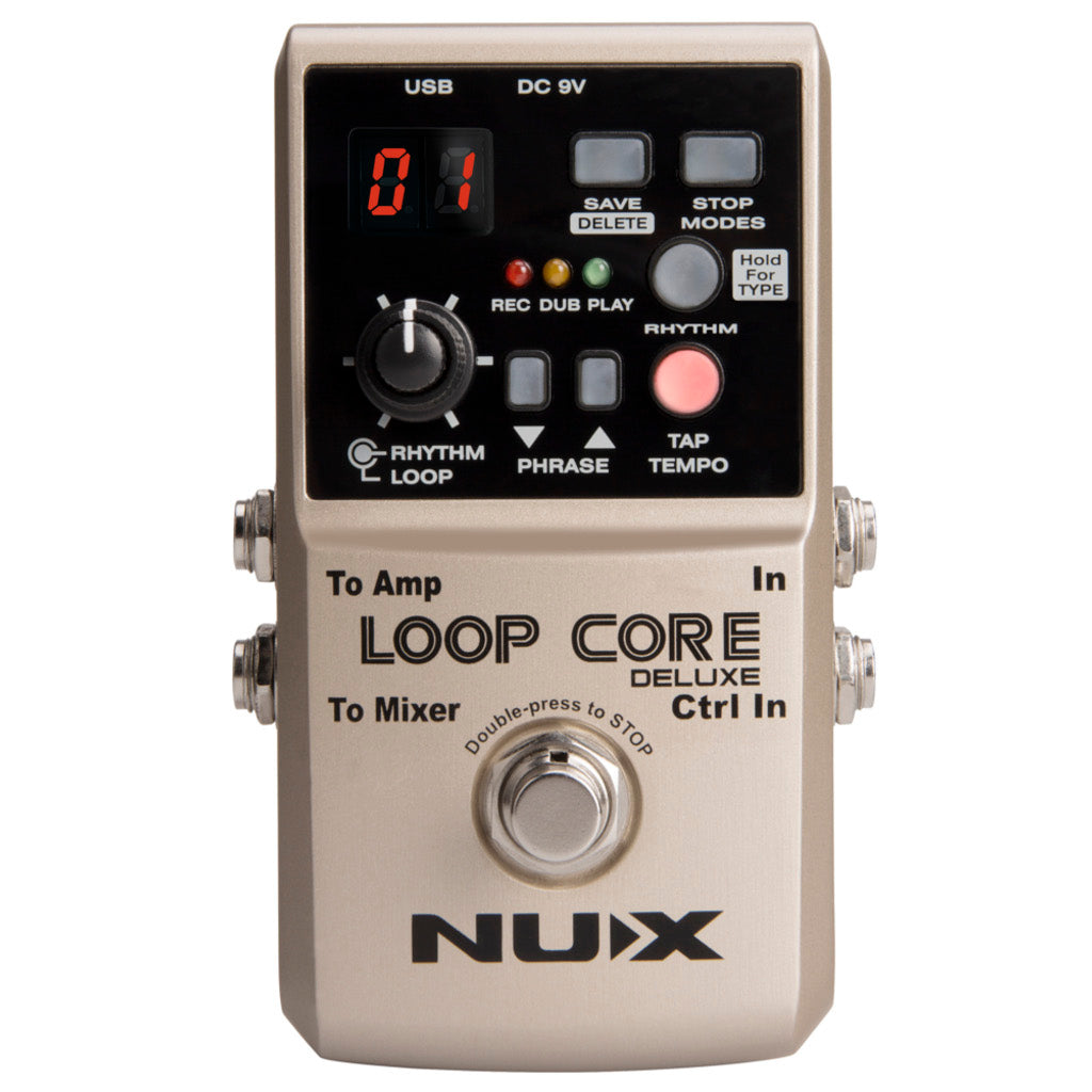 New to ThePedalGuy, the NUX Loop Core Deluxe
