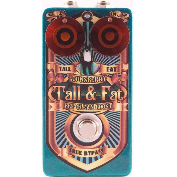 Lounsberry Pedals TFP-1 Tall and Fat Multi-Stage Analog FET Preamp-ThePedalGuy