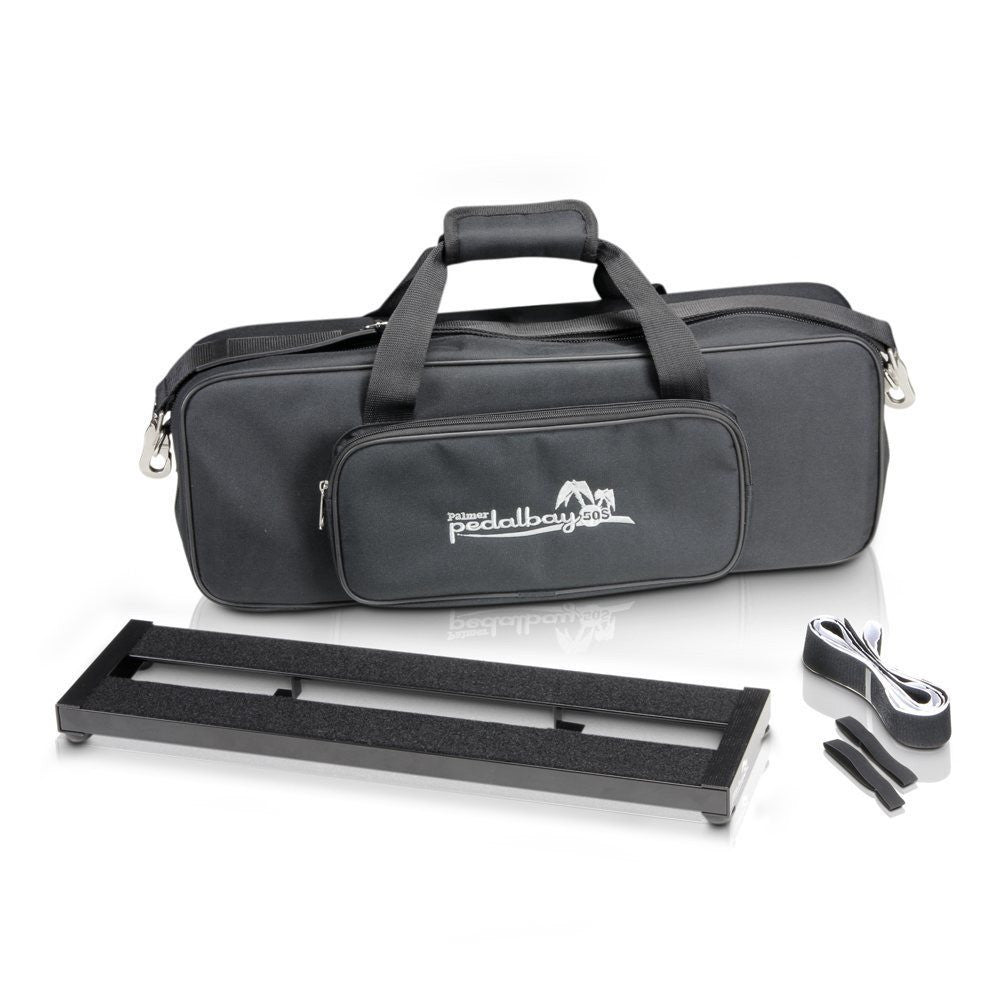 Palmer PedalBay50S Pedalboard with Softcase-ThePedalGuy