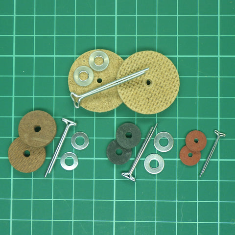 Cotter Pin Joints (Complete Set of 5) - For Jointing one Teddy Bear - Alice's Bear Shop