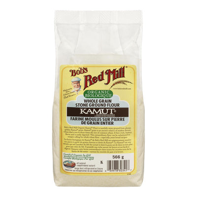 BOB'S RED MILL ORGANIC WHOLE GRAIN STONE GROUND FLOUR KAMUT 566G