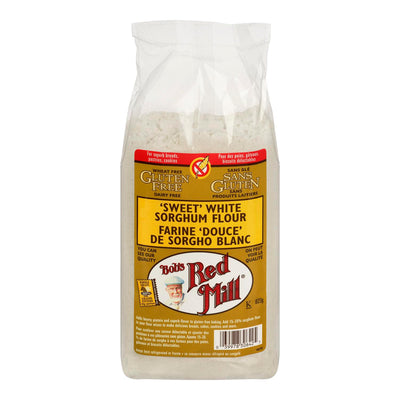 BOBS RED MILL SORGHUM FLOUR SWEET WHITE 623 G