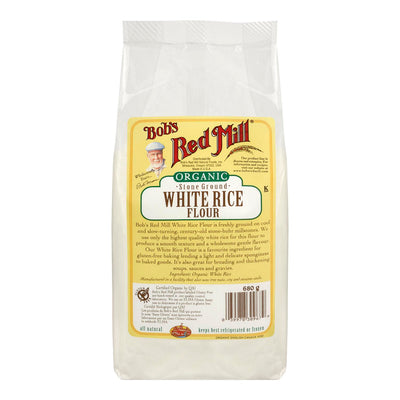 BOBS RED MILL WHITE RICE FLOUR ORGANIC 680 G
