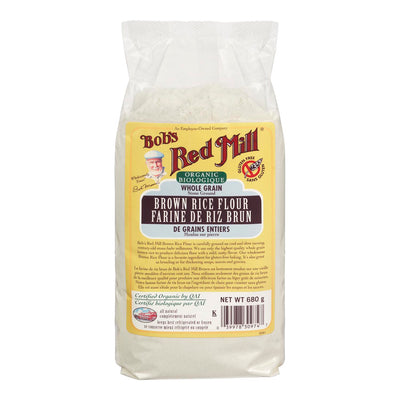 BOBS RED MILL BROWN RICE FLOUR ORGANIC 680 G