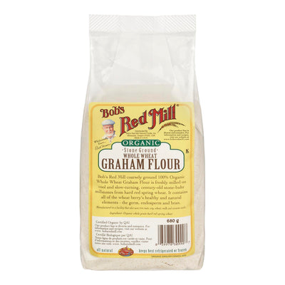 BOBS RED MILL GRAHAM FLOUR ORGANIC 680 G