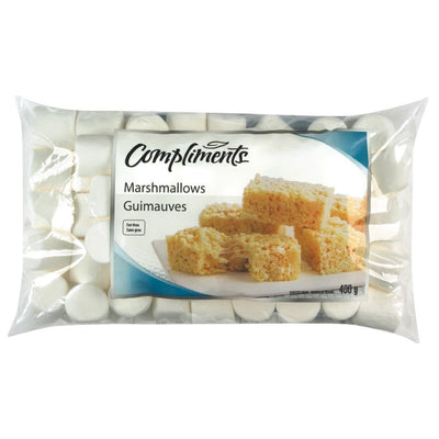 COMPLIMENTS GROSSE GUIMAUVES BLANCHE 400 G