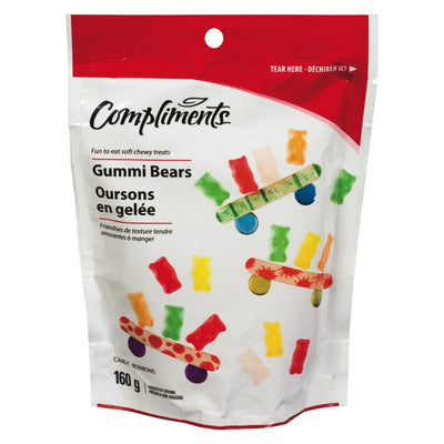 COMPLIMENTS GUMMY BEARS 160 G