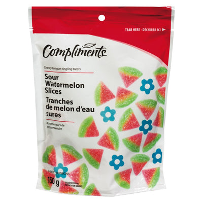 COMPLIMENTS WATERMELON CANDY 150G