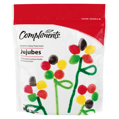 COMPLIMENTS JUJUBES CANDY 800 G