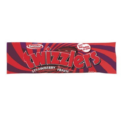 TWIZZLERS REGLISE ROUGE 227 G