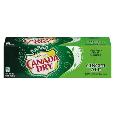 CANADA DRY SODA GINGEMBRE 12x355 ML