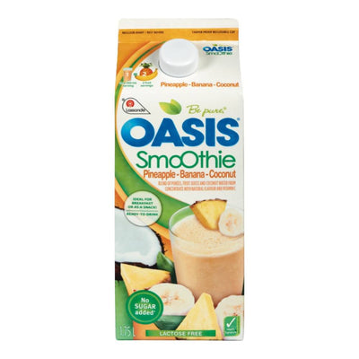 OASIS SMOOTHIE ANANAS BANANE COCO 1.75 L