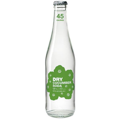 DRY SPARKLING SODA CUCUMBER 355 ML