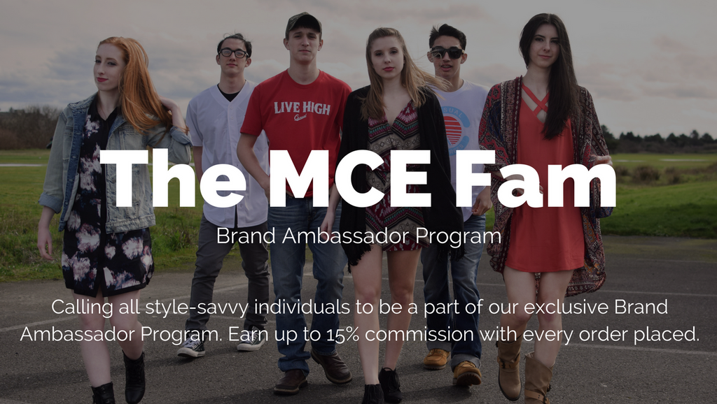 Do you want to join the MCE Fam?