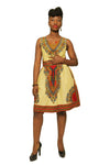 Dashiki sundress with pockets