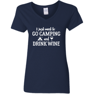 I just want to go camping and drink wine