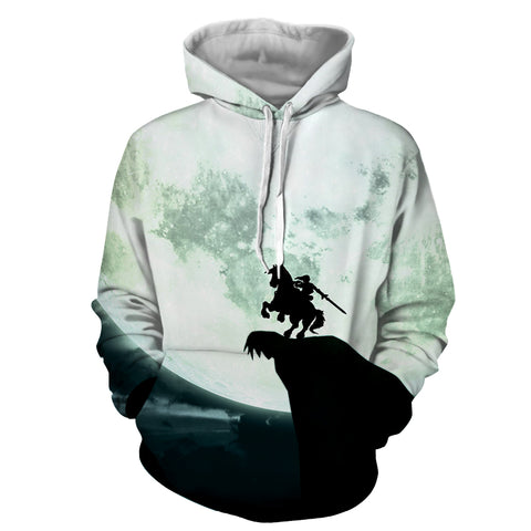 Big Moon Zelda Hoodie - Gamer Treasures