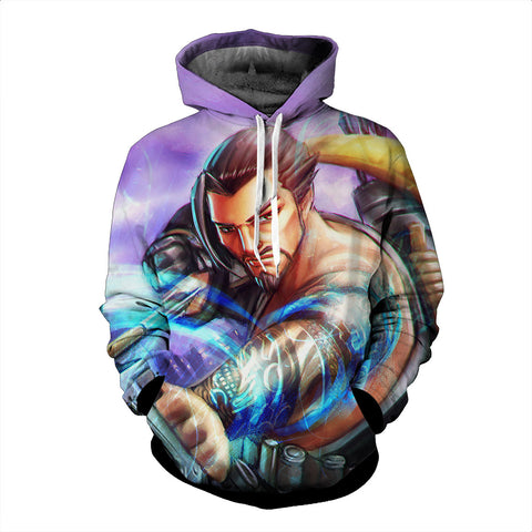 Hanzo Overwatch 3D Hoodie - Gamer Treasures