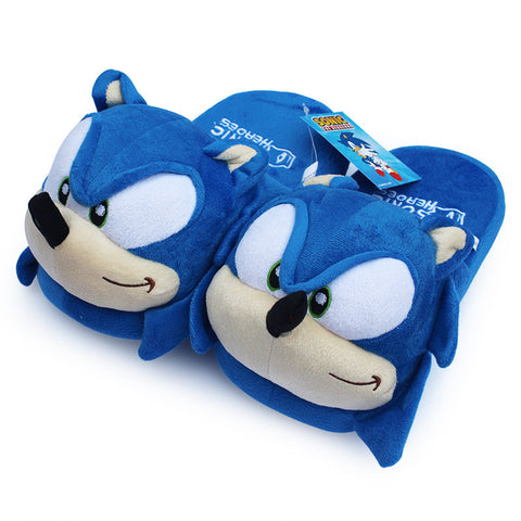 Sonic the Hedgehog Plush Slippers - Gamer Treasures