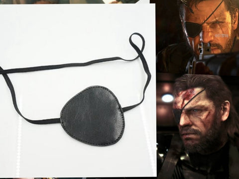 Solid Snake Metal Gear Solid Eye Patch - Gamer Treasures