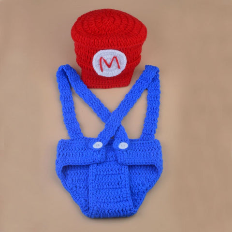 Baby Mario Crochet Costume - Gamer Treasures