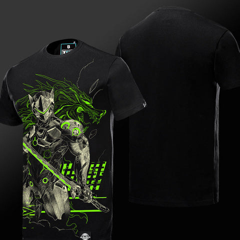 Genji Overwatch T-shirt - Gamer Treasures