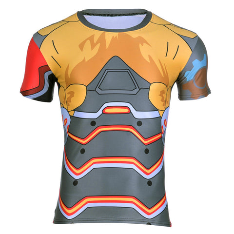 Torbjörn Overwatch 3D Compression T-shirt