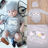 Player 3 Has Entered The Game Bodysuit + Hat - Gamer Treasures