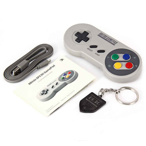 8Bitdo SFC30 Bluetooth Gamepad - Gamer Treasures