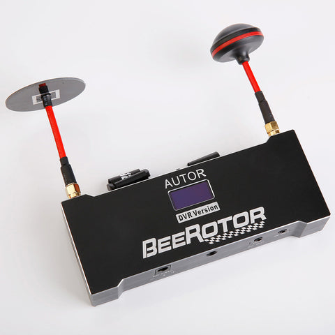 BeeRotor AutoR 5.8Ghz Diversity Receiver + Video Recorder