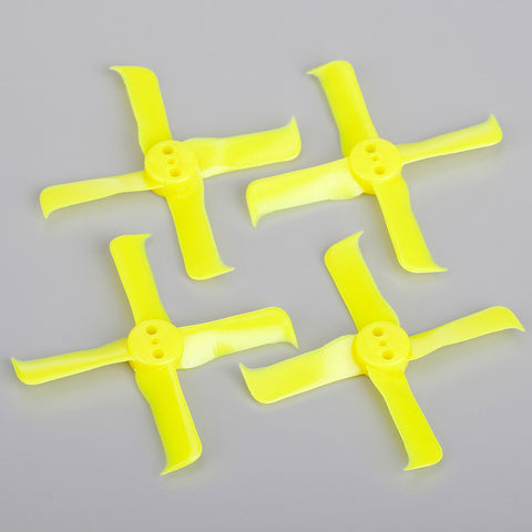 FuriousFPV FleekProp 2036-4 Propellers (Yellow / 2CW & 2CCW)