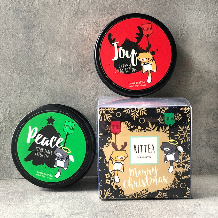 Merry Christmas Cube: Peace & Joy blends - Kittea