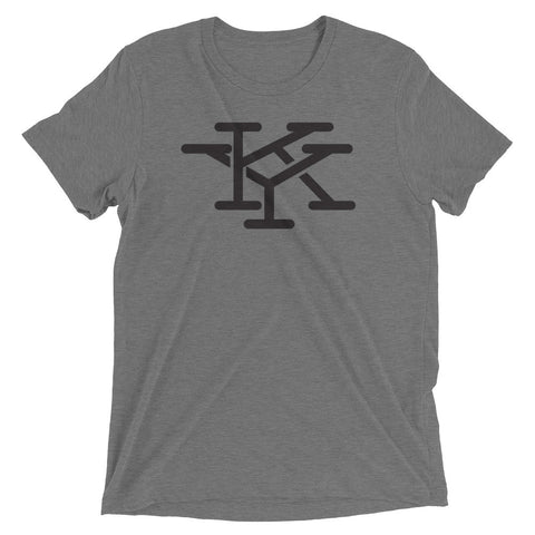 INTERLOCKING KY INITIALS (NEW) Short sleeve t-shirt