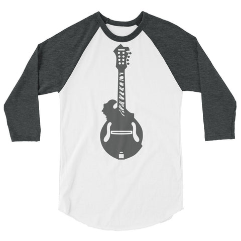 KENTUCKY MANDOLIN 3/4 sleeve raglan shirt