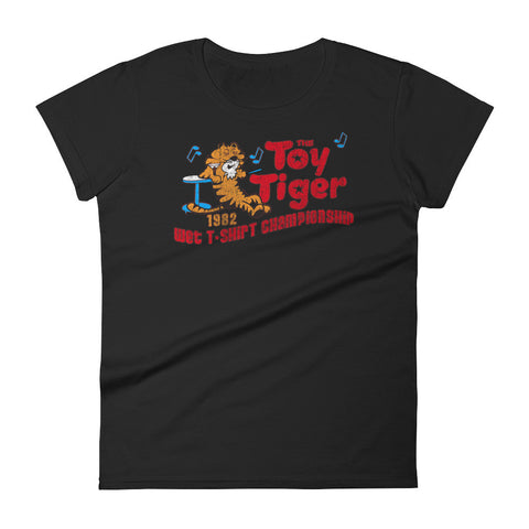 TOY TIGER (wet t-shirt) Women's short sleeve t-shirt