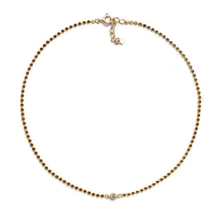 Mae Beaded Chain Choker