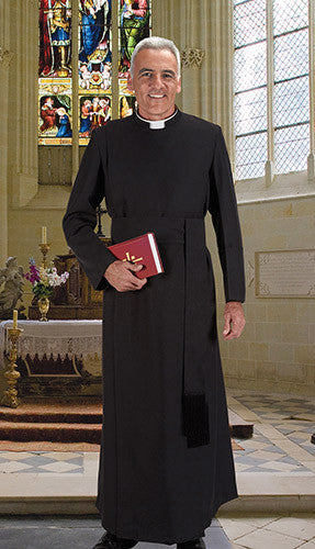 Anglican Year Rounder Cassock with Cincture