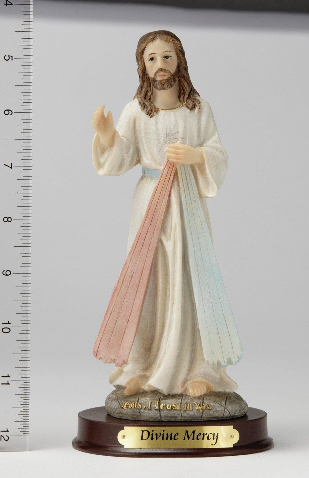 "8"" Divine Mercy Statue - Hand Painted"