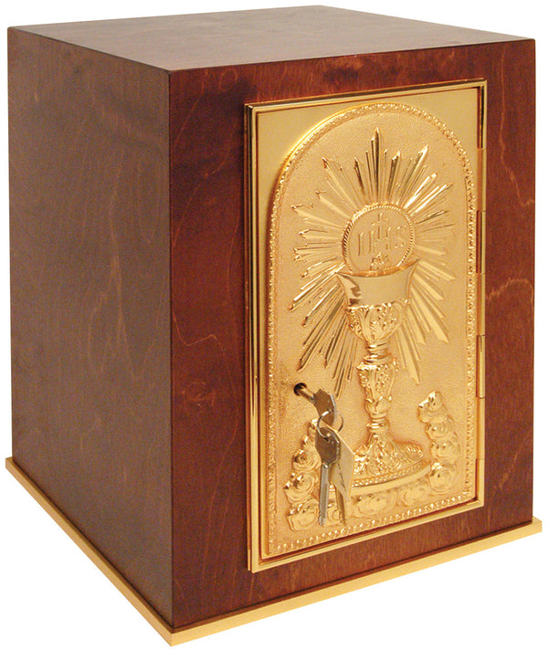 Tabernacle - Wood with 24K Gold - K904