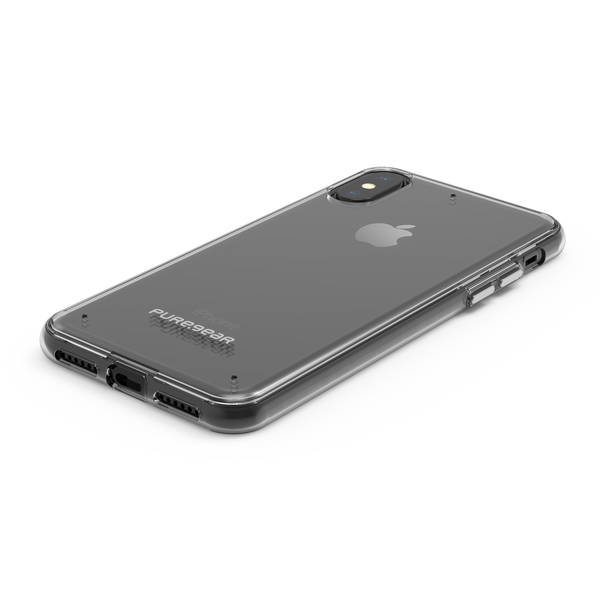PureGear Slim Shell Case for iPhone X/XS - Clear