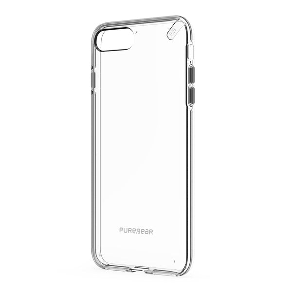 PureGear Slim Shell Case for iPhone 8 Plus/7 Plus - Clear