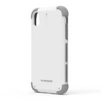 PureGear DualTek Case for iPhone XR: White